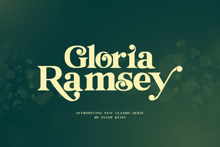 Gloria Ramsey - Two Faced Serif