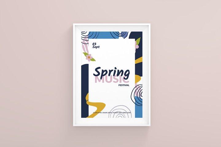Spring Music Festival Flyer Template
