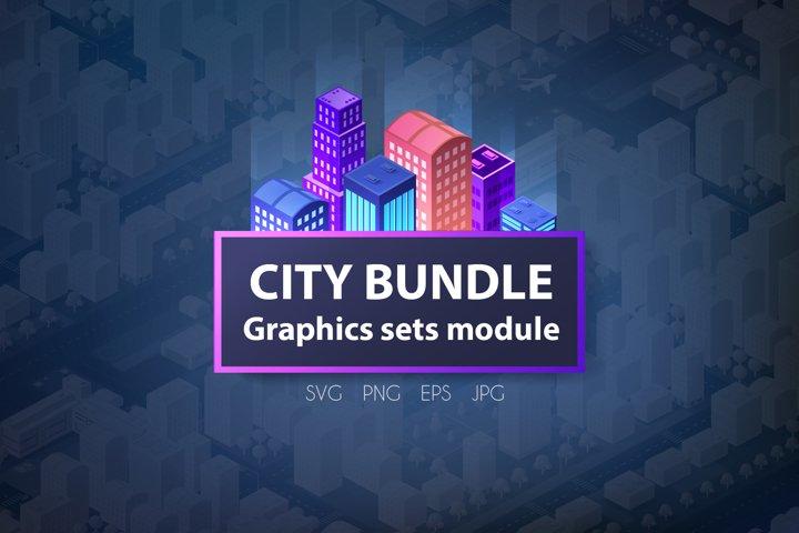 City bundle module city set