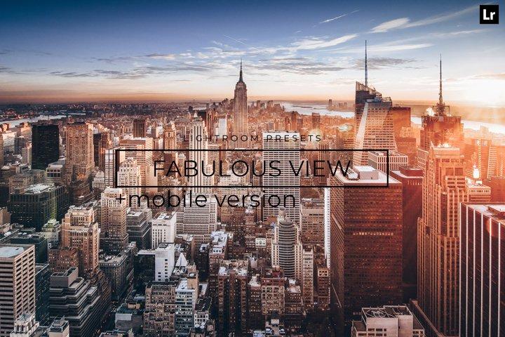 22 Fabulous View LR Presets