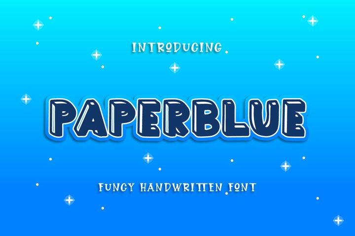 Paperblue - Handwritten Font