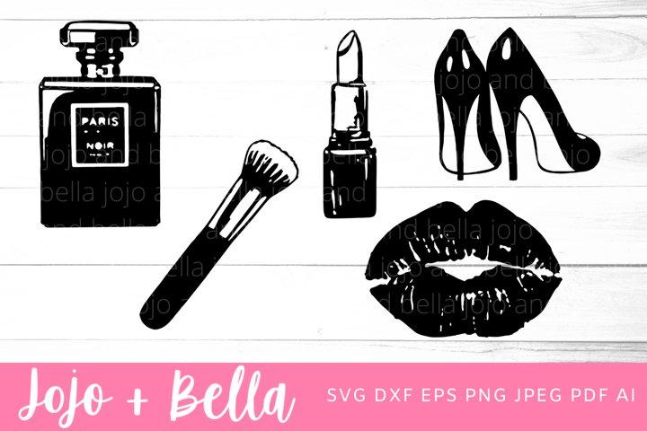 Make up Svg Bundle | Lips SVG | Lipstick Svg