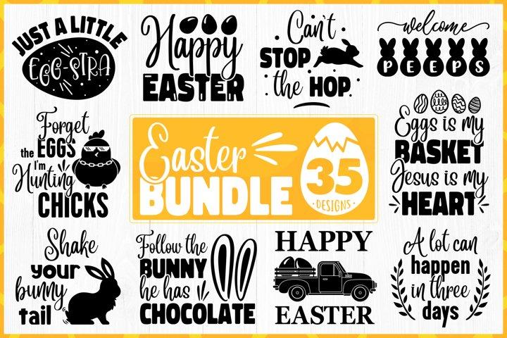 Easter Bundle SVG - Easter Quotes Bundle - Big Easter Bundle