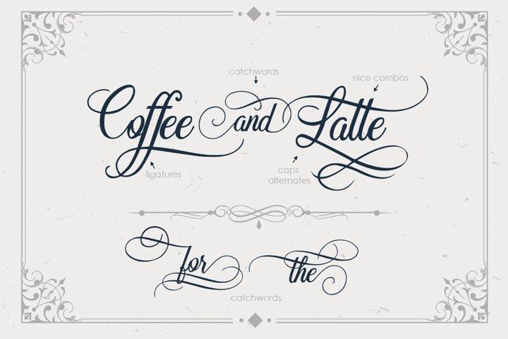 Beradon Script - Elegant Wedding font - Free Font of The Week Design1