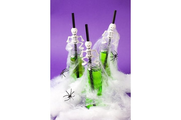 Halloween party concept, cocktail for holiday
