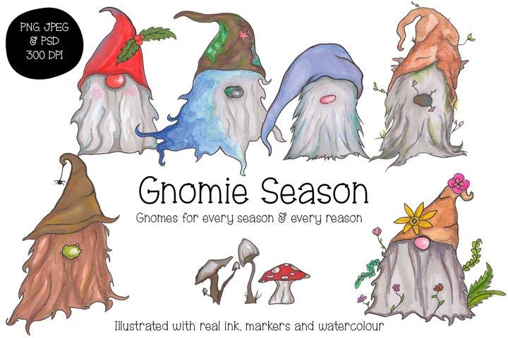 Gnomie Season - Gnome Graphic Pack