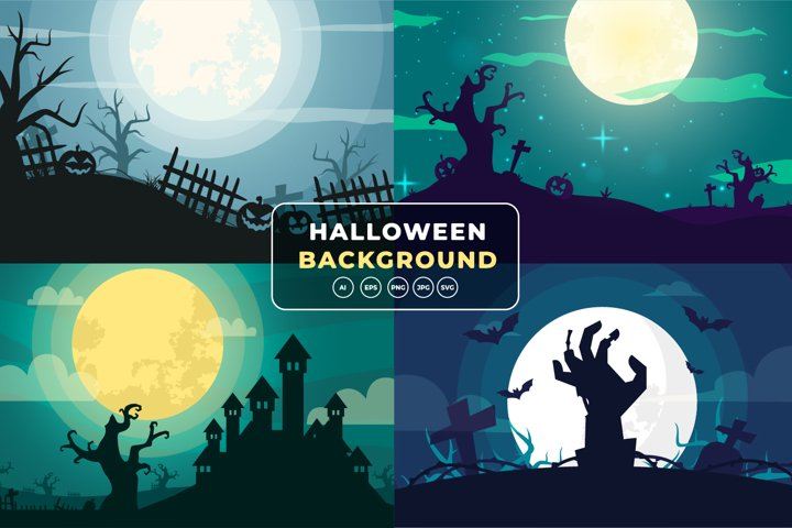 Halloween Background Bundle