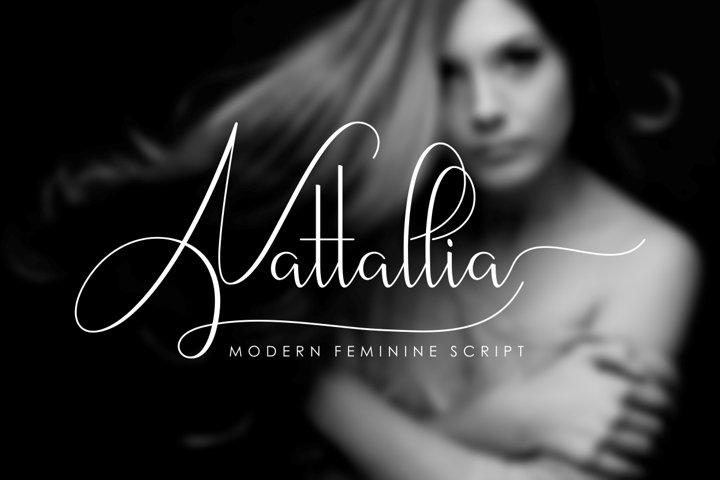 Nattallia Modern Feminine Script