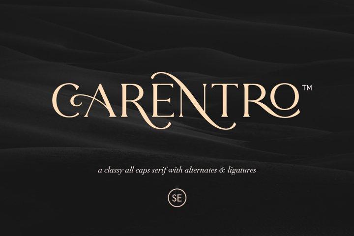 Carentro - Classy Serif