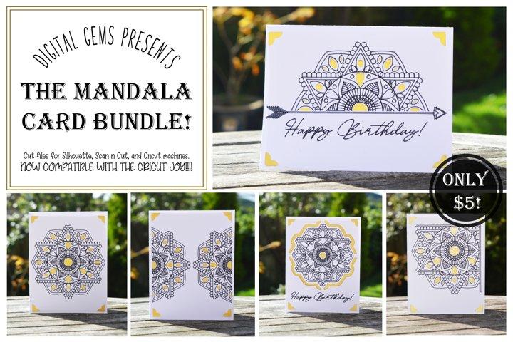Mandala card bundle! Now compatible with the Cricut Joy!