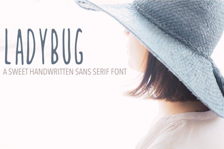 Ladybug Handwritten Font