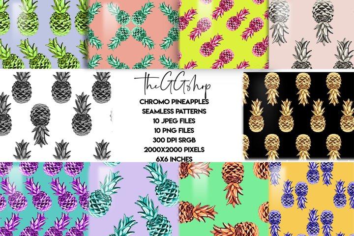 Pineapple Patterns Png & Jpeg