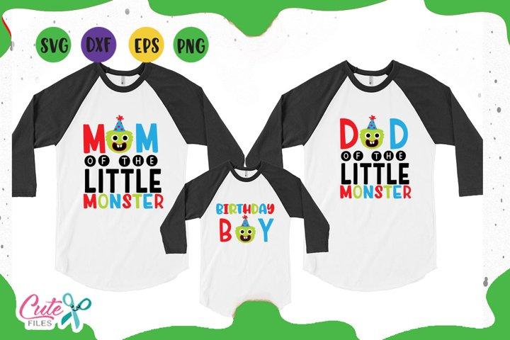 Family Monster A Birthday Svg Files 213974 Cut Files Design Bundles