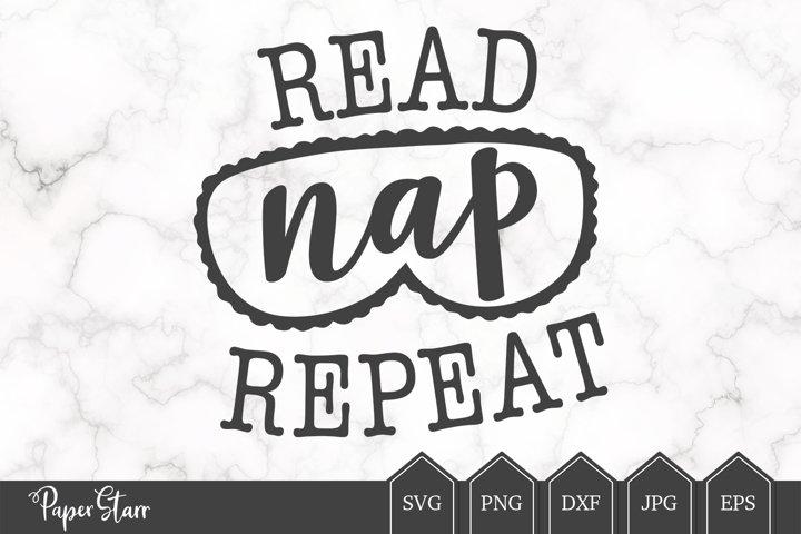 Nap Time SVG, Reading SVG, Gift Vinyl Transfer Cut File