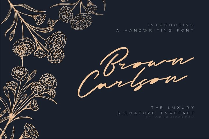 Brown Carlson - The Luxury Signature