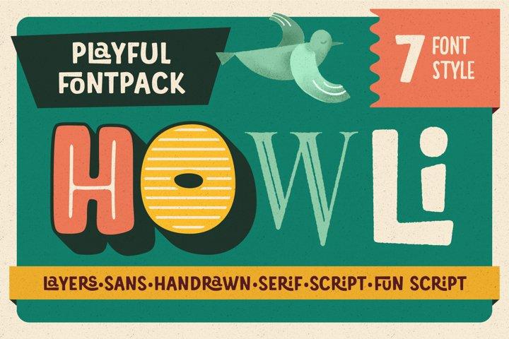 Howli Font Pack