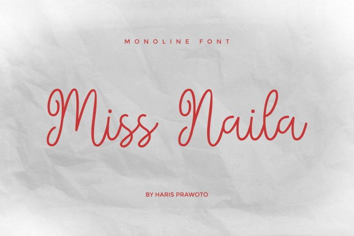 Miss Naila- Lovely Modern Calligraphy