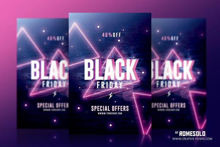 Black Friday Flyer Template v2