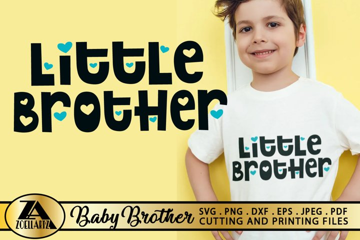 Baby SVG PNG EPS DXF Brother SVG Little Brother SVG Cut file