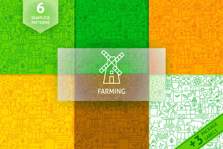 Farming Line Tile Patterns