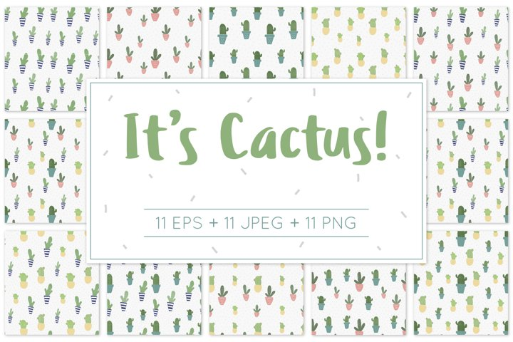 Its Cactus! - Pattern