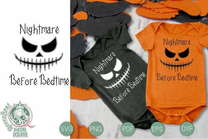 Nightmare Before Bedtime SVG