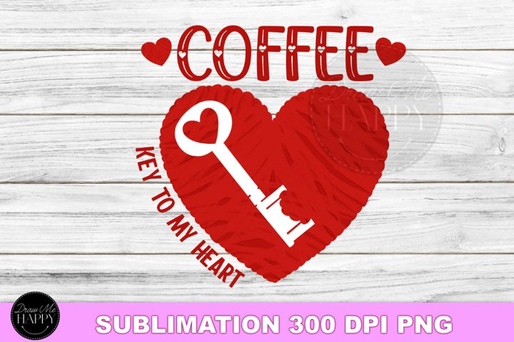 Valentines Day Sublimation, Coffee Sublimation
