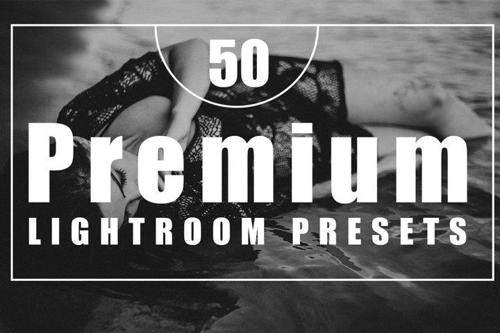 50 Premium Lightroom Presets