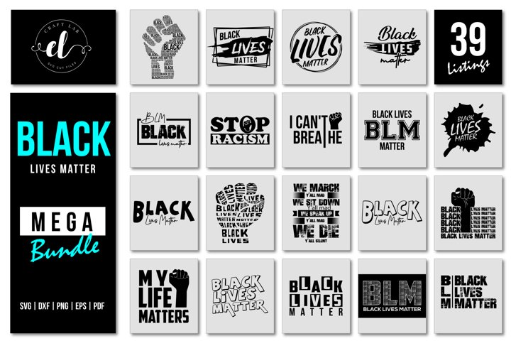 Black Lives Matter SVG Mega Bundle