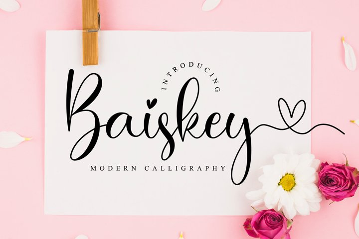 Baiskey Script