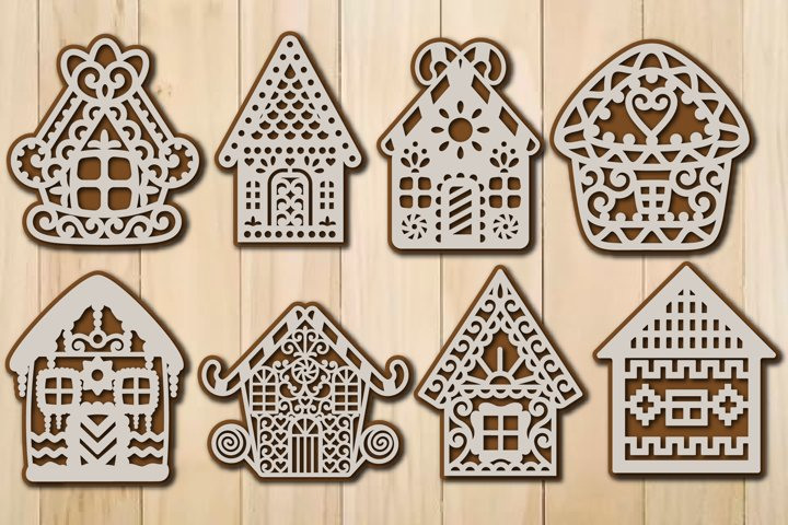 Christmas Gingerbread House Template For Cutting