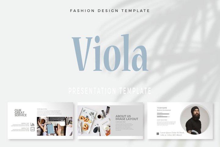 Viola Presentation Template