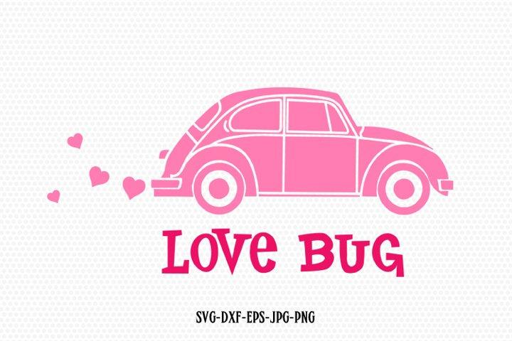 Download Love bug doodle bug car svg, Valentines Day Svg (176213 ...