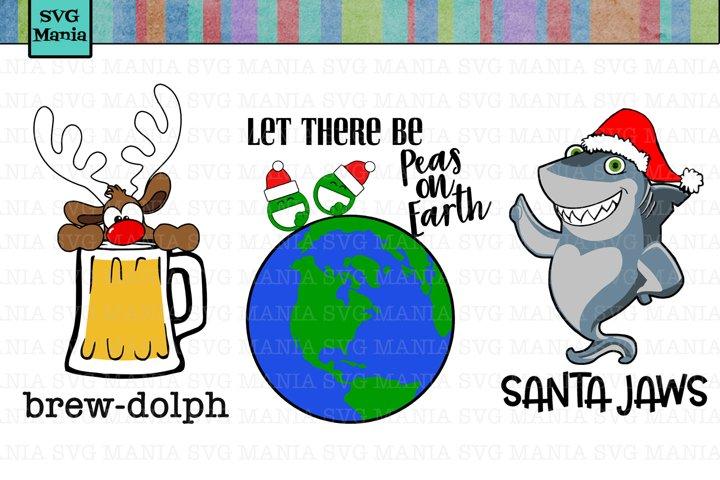 Funny Christmas SVG File Bundle, SVG File Christmas, Funny Christmas Shirt SVG, Funny Holiday SVG File, SVG Files for Cricut