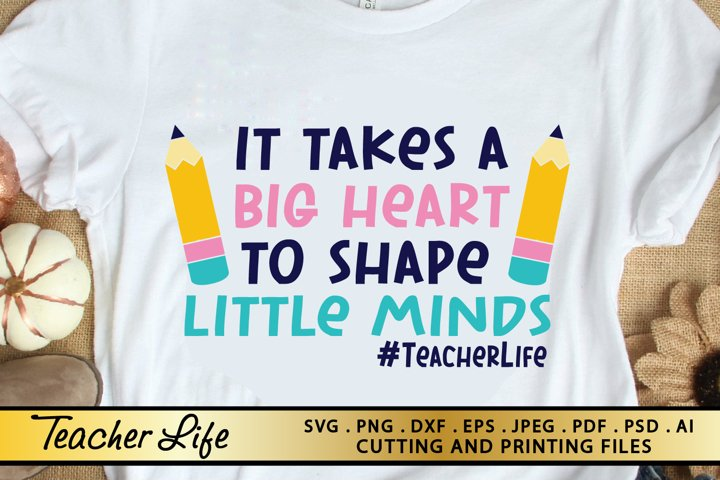 Teacher Life SVG PNG EPS DXF Files for Cutting and Printing