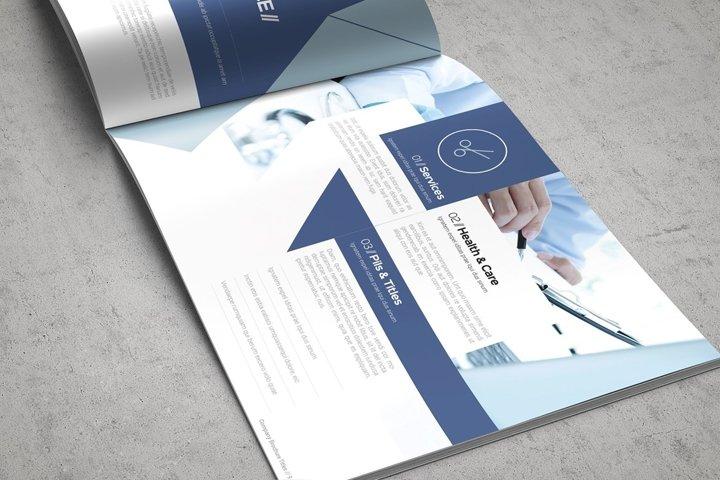 Health & Care Brochure Template