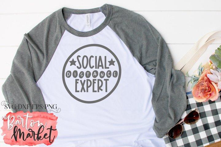 Social Distance Expert SVG DXF EPS PNG