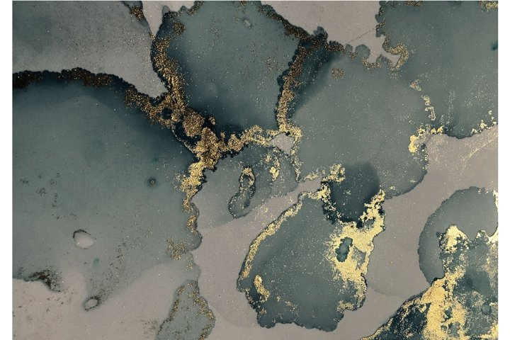 GOLD ALCOHOL INK TEXTURE
