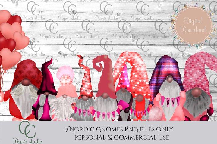 Gnomes illustrations - Valentines edition