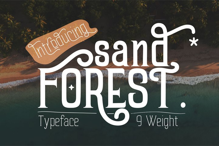 Sand Forest 9 Weight