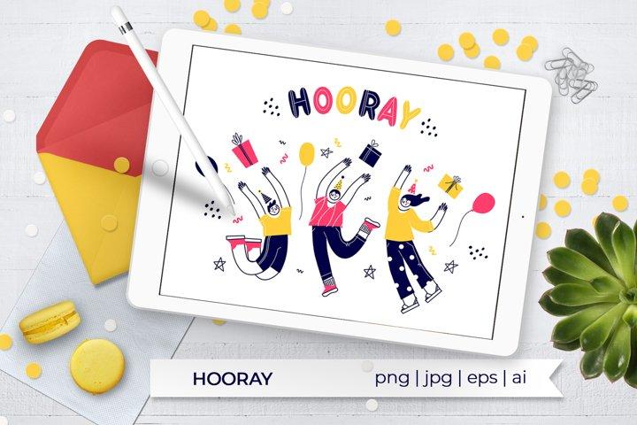 Postcard Hooray
