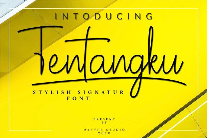 Tentangku Signature