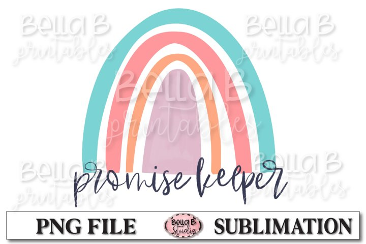 Rainbow, Promise Keeper Sublimation Design