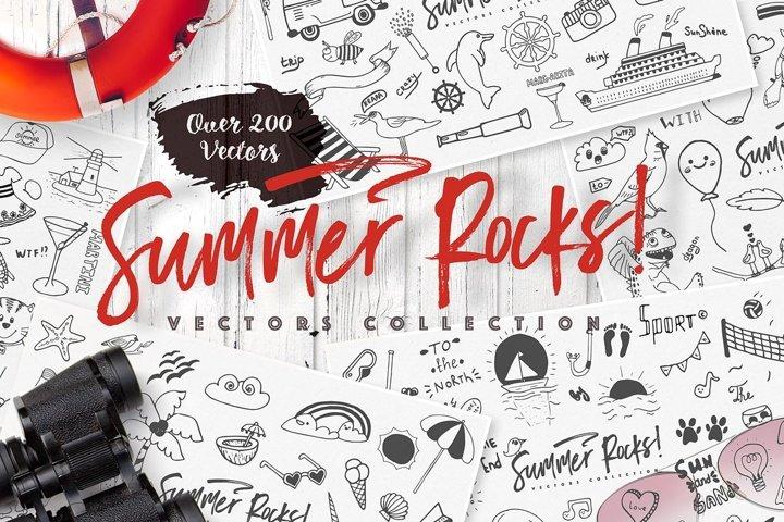 Summer Rocks! Vectors Collection