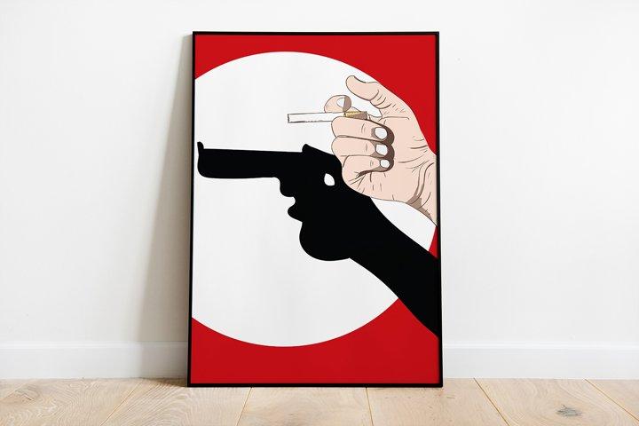 Wall Art,Smoking harms yourself