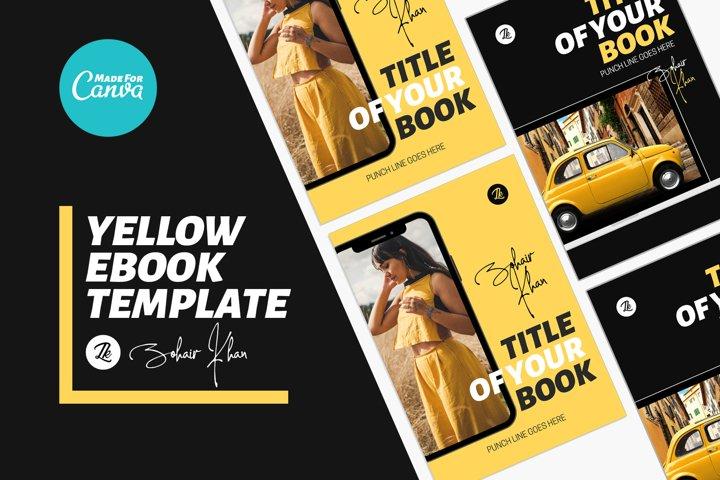 Canva Yellow eBook Template
