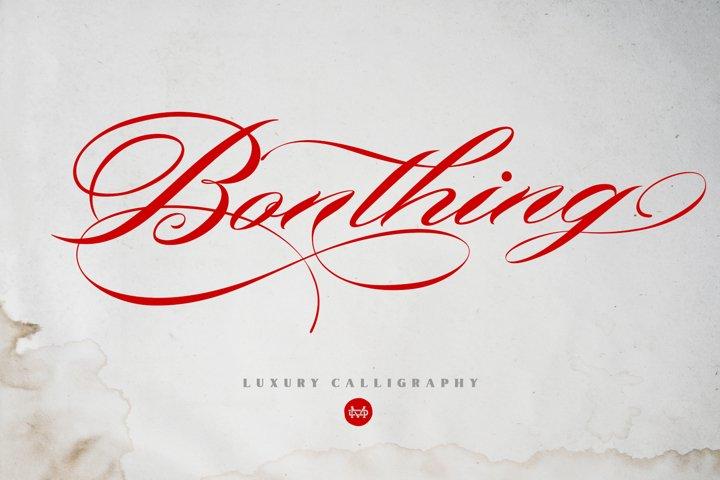 Bonthing Calligraphy