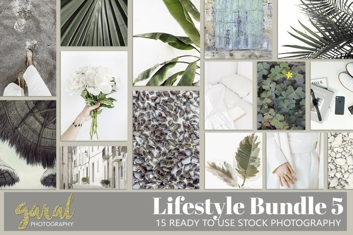 Lifestyle Bundle 5, 15 High Quality Stock Photos