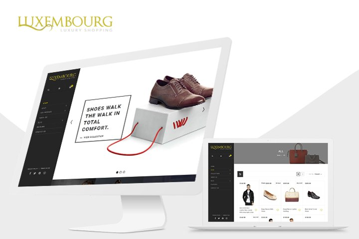 Luxembourg Shopify Theme
