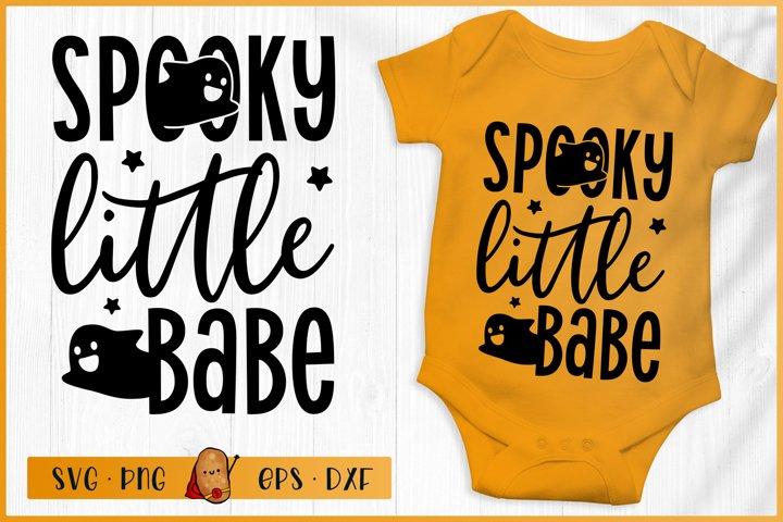 Halloween SVG - Spooky Little Baby SVG - Baby Halloween SVG